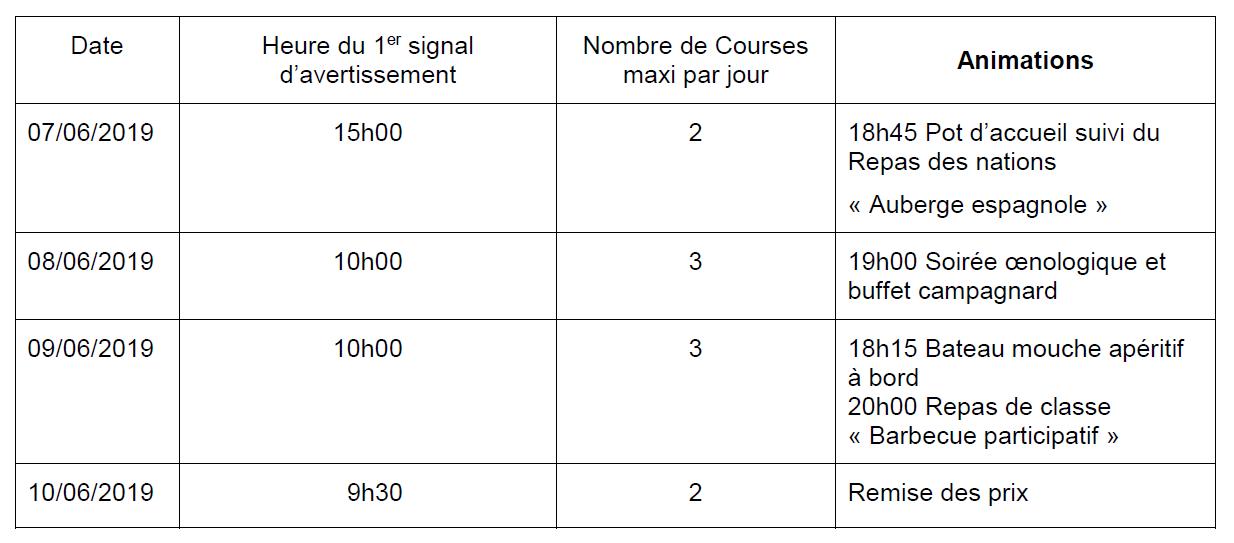 GoldCup Schedule